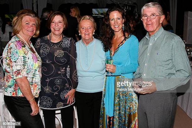 Nance Minchin, Sheila O'Donnell, Sally O'Brien, Jean Van Sinderen-Law and Hauk Minchin attend 12th Anniversary Belle Haven Challenge Event For The...