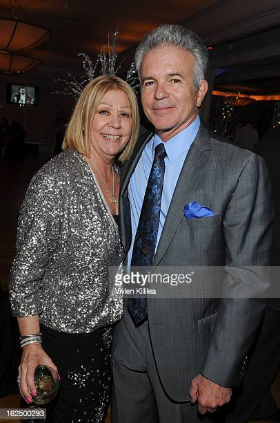 Nancee Borgnine and Tony Denison attend The Borgnine Movie Star Gala at Sportsmen's Lodge Event Center on February 23 2013 in Studio City California
