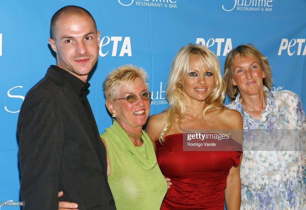 Pamela Anderson's 40th Birthday Party Hosted by PETA : News Photo
