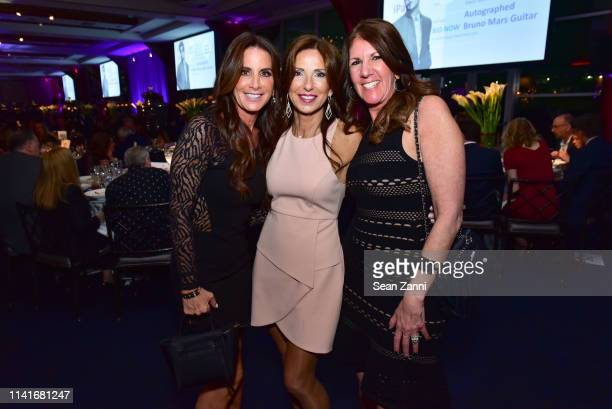 Nanci Kushner Anne Diamond and Lori Perlowitz attend the Alzheimer's Drug Discovery Foundation's Second Memories Matter Event at Pier 60 Chelsea...