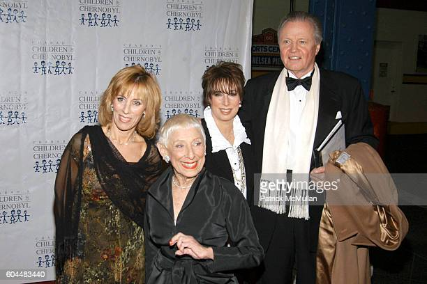 Nancy A Spielberg Leah Adler Sue Spielberg and Jon Voight attend ELIE TAHARI Honored by CHILDREN OF CHERNOBYL at Pier Sixty on November 20 2006 in...
