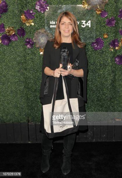 Nancy Abraham attends the 2018 IDA Documentary Awards on December 8 2018 in Los Angeles California