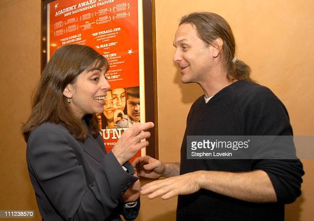 Nancy Abraham from HBO and the film's Producer Sean Welch