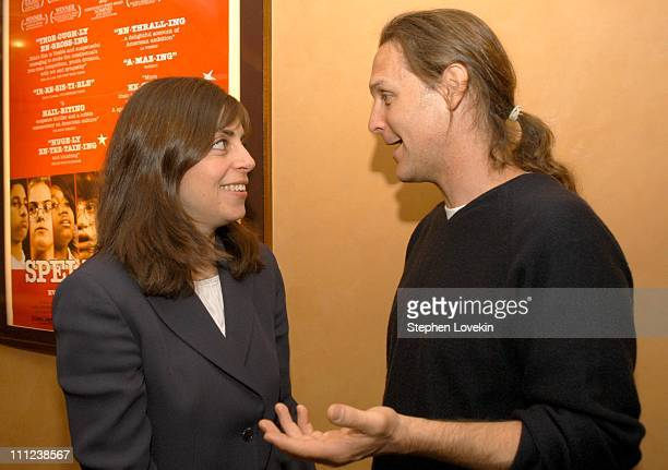 Nancy Abraham of HBO and the film's Producer Sean Welch