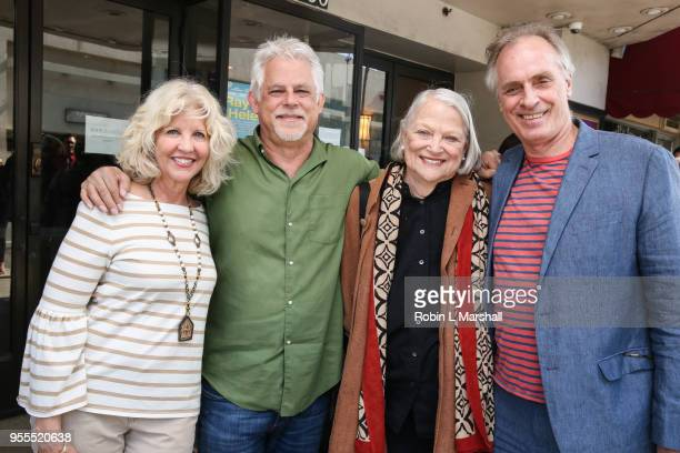 Nancy Allen Steven J Wolfe Lois Smith and Keith Carradine attend the screening of Alan Rudolph's 'Ray Meets Helen' at Laemmle's Music Hall 3 on May 6...