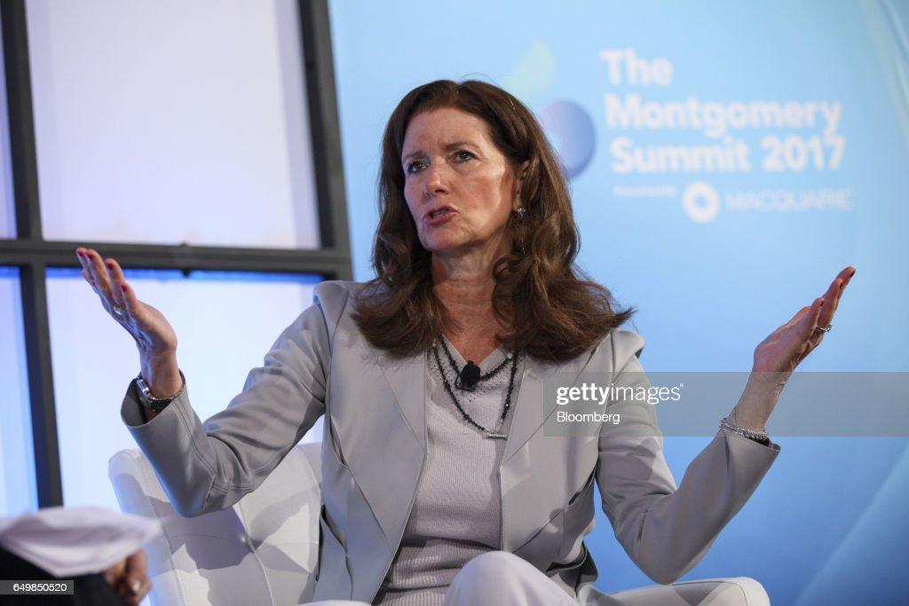 Key Speakers At The 2017 Montgomery Summit : Nachrichtenfoto