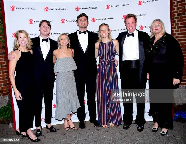 Nancy Arnot Kiera Taussig Bobby Arnot Mary Taussig Bob Arnot and Courtney Arnot Attend the Save the Children Young Patron's Gala at Central Park Zoo...