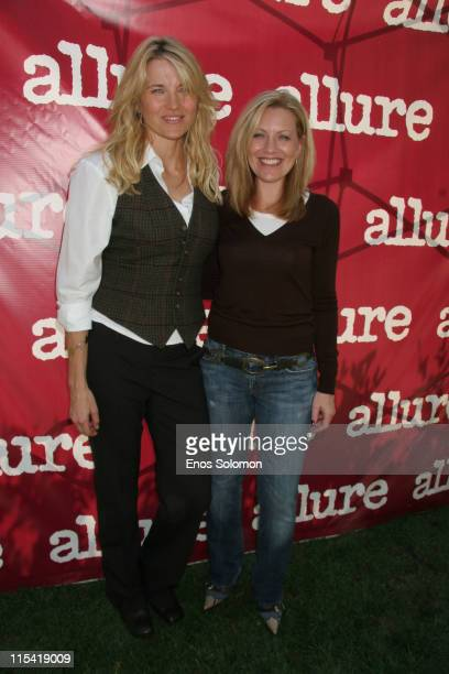 Nancy Berger Cardone Vice President Publisher of Allure Magazine with Lucy Lawless