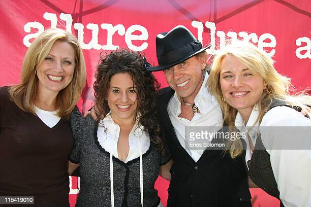 Nancy Berger Cardone Vice President Publisher of Allure Magazine with Marissa Jaret Winokur Michael O'Rourke and Lucy Lawless