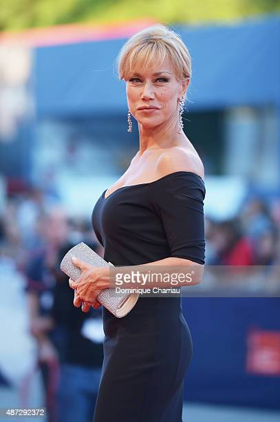 Nancy Brilli attends a premiere for 'Blood Of My Blood' during the 72nd Venice Film Festival at on September 8, 2015 in Venice, Italy.