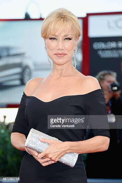 Nancy Brilli attends a premiere for 'Blood Of My Blood' during the 72nd Venice Film Festival at on September 8 2015 in Venice Italy