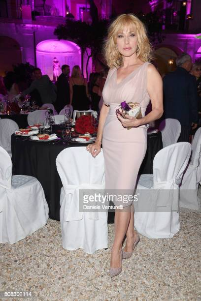 Nancy Brilli attends Gina Lollobrigida Birthday Celebrations In Rome on July 4, 2017 in Rome, Italy.