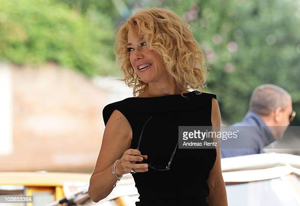 Nancy Brilli attends the 67th Venice Film Festival on September 5, 2010 in Venice, Italy.