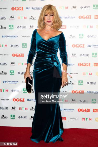 Nancy Brilli attends the celebrations of the 80 years of the Oggi magazine at Hotel Principe di Savoia on October 02 2019 in Milan Italy