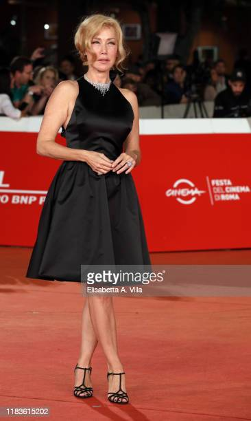 Nancy Brilli attends the Kapò screening during the 14th Rome Film Festival on October 26 2019 in Rome Italy