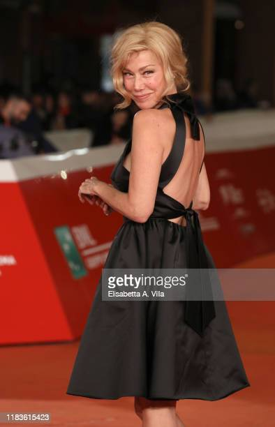 "Nancy Brilli attends the ""Kapò"" screening during the 14th Rome Film Festival on October 26, 2019 in Rome, Italy."