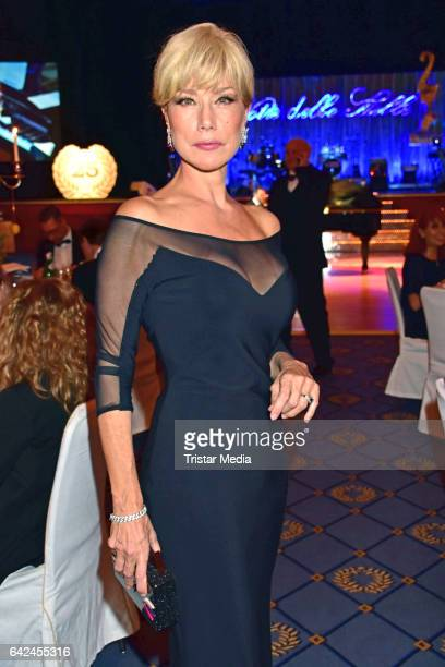 Nancy Brilli attends the Notte Delle Stelle - Premio Bacco At Hotel Maritim During 67th International Film Festival Berlinale on February 17, 2017 in...
