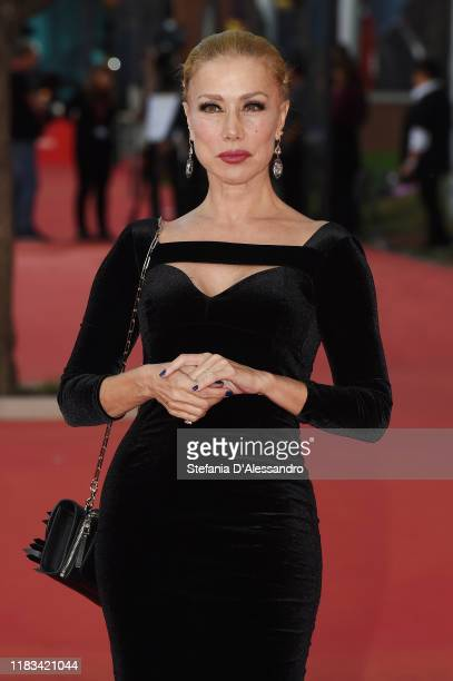 "Nancy Brilli attends the red carpet of the movie ""Il cinema è una cosa meravigliosa"" during the 14th Rome Film Festival on October 25, 2019 in Rome,..."
