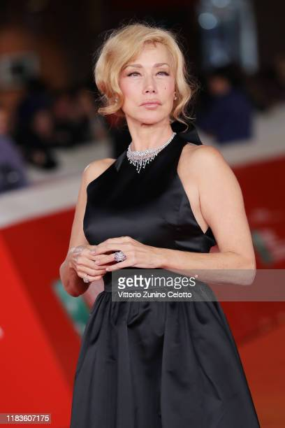 "Nancy Brilli attends the red carpet of the movie ""Kapò"" during the 14th Rome Film Festival on October 26, 2019 in Rome, Italy."