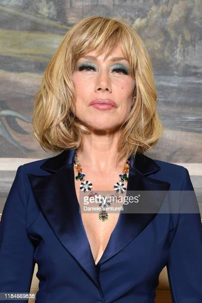 Nancy Brilli attends the Telethon dinner during the 14th Rome Film Festival on October 22, 2019 in Rome, Italy.