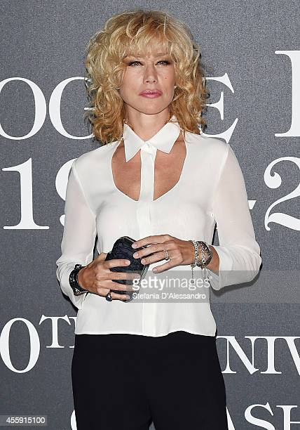 Nancy Brilli attends Vogue Italia 50th Anniversary Event on September 21 2014 in Milan Italy