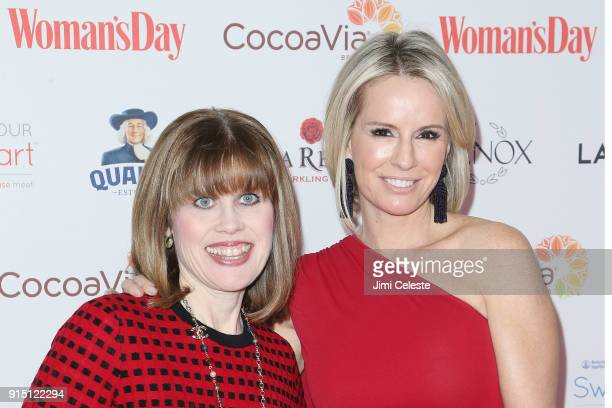 Nancy Brown and Jennifer Ashton MD attend Woman's Day Celebrates 15th Annual Red Dress Awards at Appel Room at Jazz at Lincoln Centerâ Frederick P...