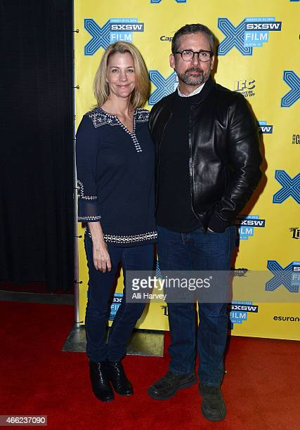 Nancy Carell and Steve Carell attend TBS' 'Angie Tribeca' Premiere during SXSW at Austin Convention Center on March 14 2015 in Austin Texas