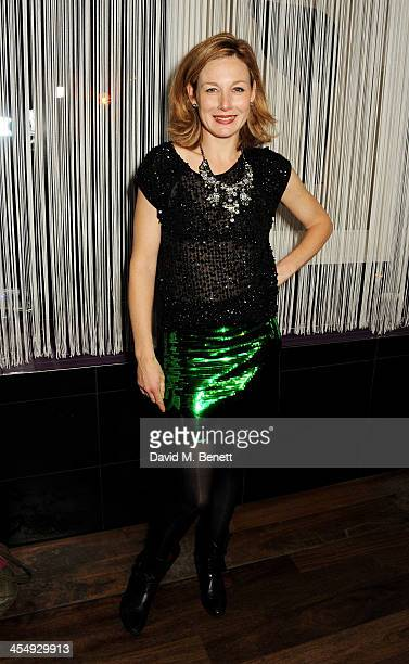 Nancy Carroll attends an after party celebrating the press night performance of The Duck House at The Trafalgar Hotel on December 10 2013 in London...