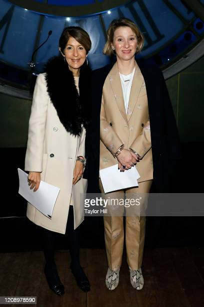 Nancy Chilton and Hildy Kuryk attend the press preview of About Time Fashion and Duration the 2020 Metropolitan Museum of Art Costume Institute...