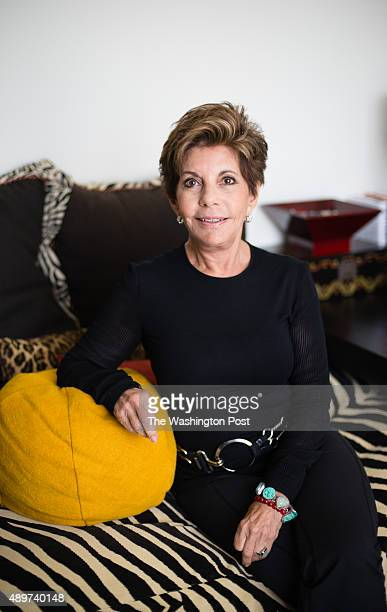 Nancy Conrad sits in the guest room of her extensively renovated condo in the Watergate building on August 22 2015