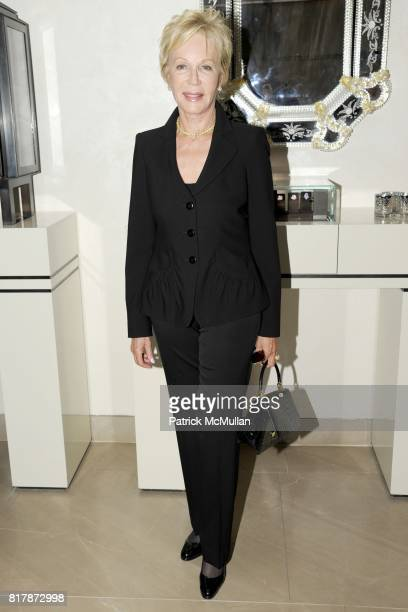 Nancy Corzine attends LEVIEV Celebrates Evelyn Lauder The Breast Cancer Research Foundation at Leviev on September 21 2010 in New York City
