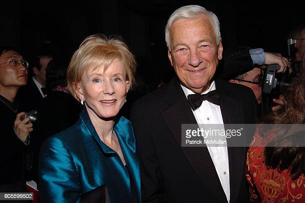Nancy D Whitehead and John C Whitehead attend ASIA SOCIETY 50th Anniversary Gala Dinner at WaldorfAstoria on February 23 2006 in New York City