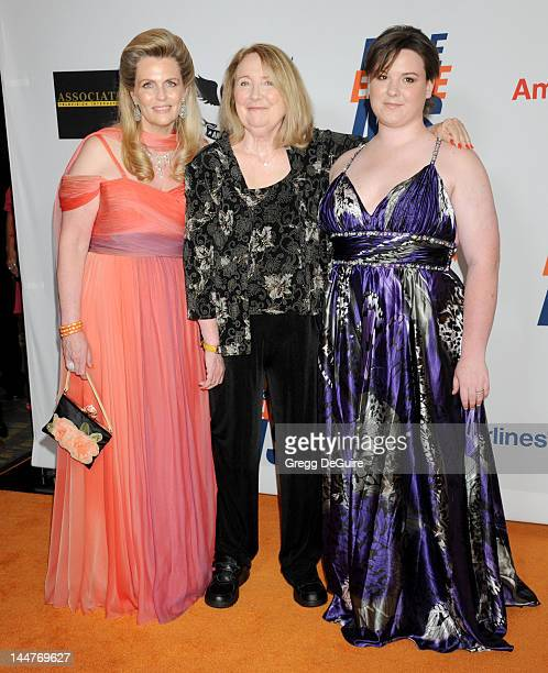Nancy Davis actress Teri Garr and daughter Molly O'Neil arrive at the 19th Annual Race To Erase MS Event at the Hyatt Regency Century Plaza on May 18...
