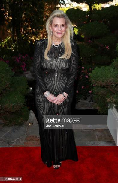 """Nancy Davis attends a private event with the cast of MTV's """"The Hills"""" hosted by Cure Addiction Now & The Red Songbird Foundation on March 05, 2021..."""