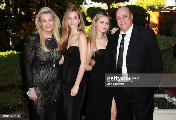 """Nancy Davis, Isabella Rickel, Mariella Rickel, and Ken Rickel attend a private event with the cast of MTV's """"The Hills"""" hosted by Cure Addiction Now..."""