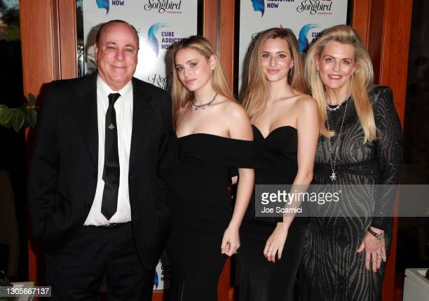 """Nancy Davis, Mariella Ricke, Isabella Rickel, and Ken Rickel attend a private event with the cast of MTV's """"The Hills"""" hosted by Cure Addiction Now &..."""