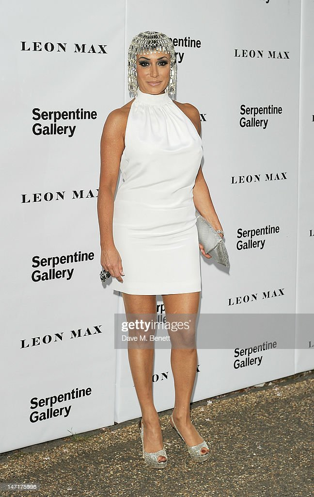 Nancy Dell'Olio arrives at the Serpentine Gallery Summer Party sponsored by Leon Max at The Serpentine Gallery on June 26, 2012 in London, England.