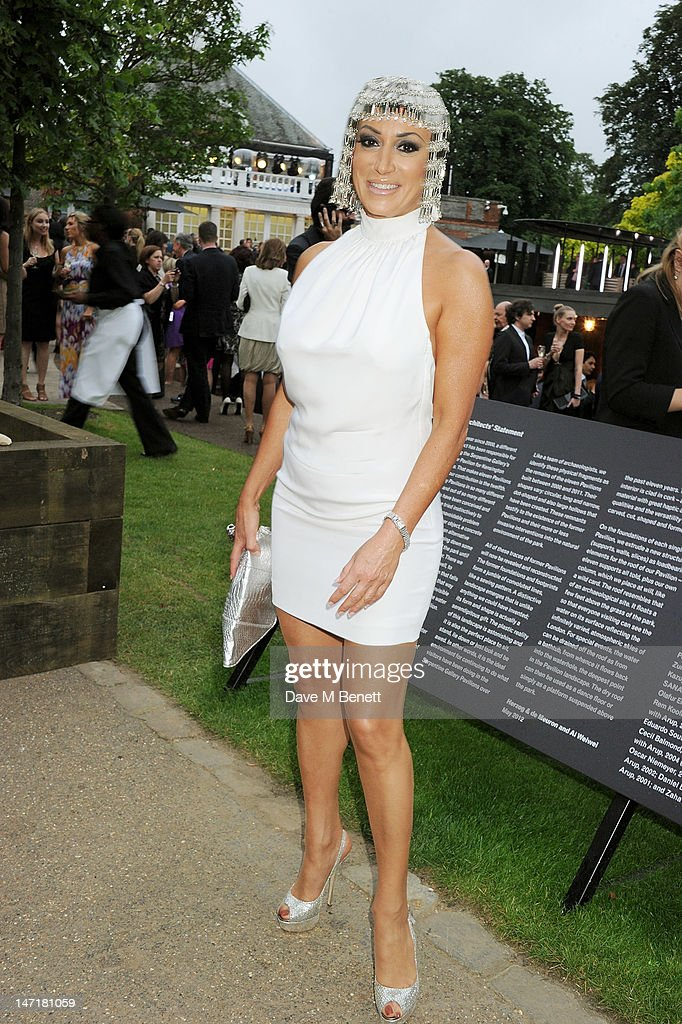 Nancy Dell'Olio attend The Serpentine Gallery Summer Party sponsored by Leon Max at The Serpentine Gallery on June 26, 2012 in London, England.