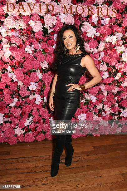 Nancy Dell'Olio attends the David Morris Ai Weiwei exhibition gala preview at the Royal Academy of Arts on September 17 2015 in London England