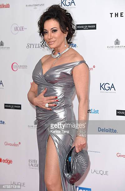 Nancy Dell'Olio attends the FiFi UK Fragrance Awards at The Brewery on May 14 2015 in London England