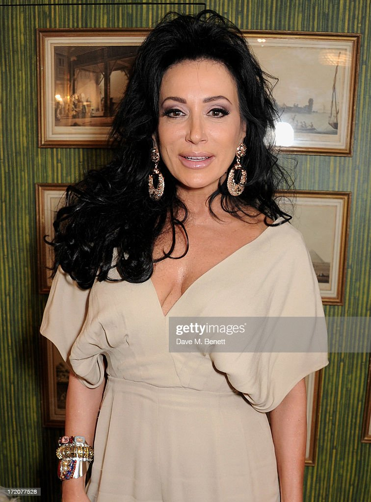 Nancy Dell'Olio attends the launch of Nicky Haslam's new album 'Midnight Matinee' on July 1, 2013 in London, England.