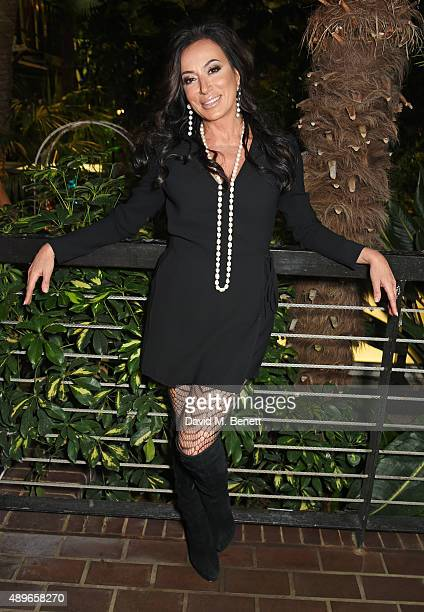 Nancy Dell'Olio attends the launch of the Cool Earth Goes Global initiative hosted by Dame Vivienne Westwood and Andreas Kronthaler at The...