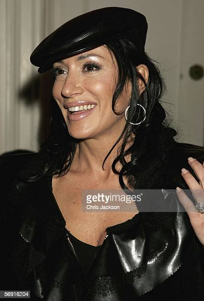 Nancy Dell'Olio attends the Opus VIP launch party launching Kraken Sport Media publishings latest venture in partnership with Manchester United...