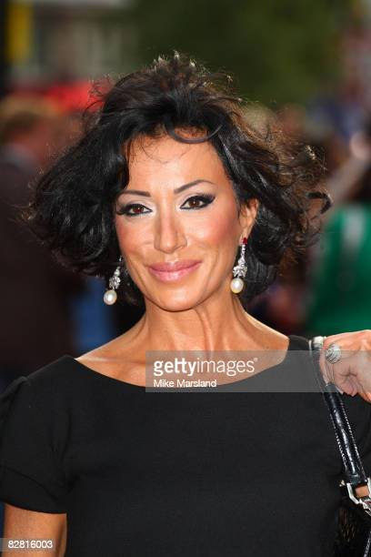 Nancy Dell'Olio attends the Righteous Kill premiere at Empire Leicester Square on September 14 2008 in London England