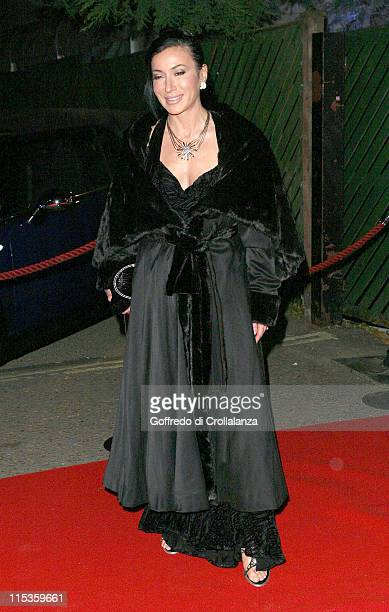 Nancy Dell'Olio during Yaksha Yakshi 'Doorkeepers to the Divine' British Red Cross Ball at Red Cross Ball in London Great Britain