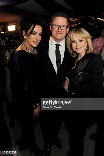 Nancy Dell'Olio Matthew Bourne and Felicity Kendal attend an after party following the press night performance of Matthew Bourne's Sleeping Beauty at...