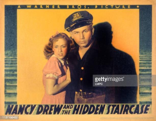 Nancy Drew And The Hidden Staircase lobbycard Bonita Granville Frankie Thomas 1939
