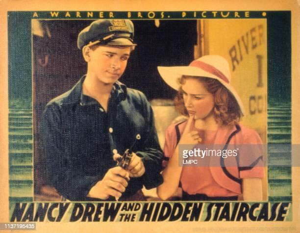 Nancy Drew And The Hidden Staircase lobbycard Frankie Thomas Bonita Granville 1939