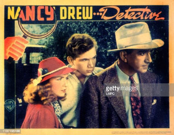 Nancy Drew Detective lobbycard Bonita Granville Frankie Thomas John Litel 1938