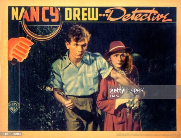 Nancy Drew Detective lobbycard Frankie Thomas Bonita Granville 1938